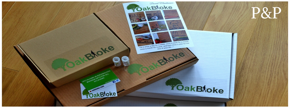 Postage and packaging oak gifts