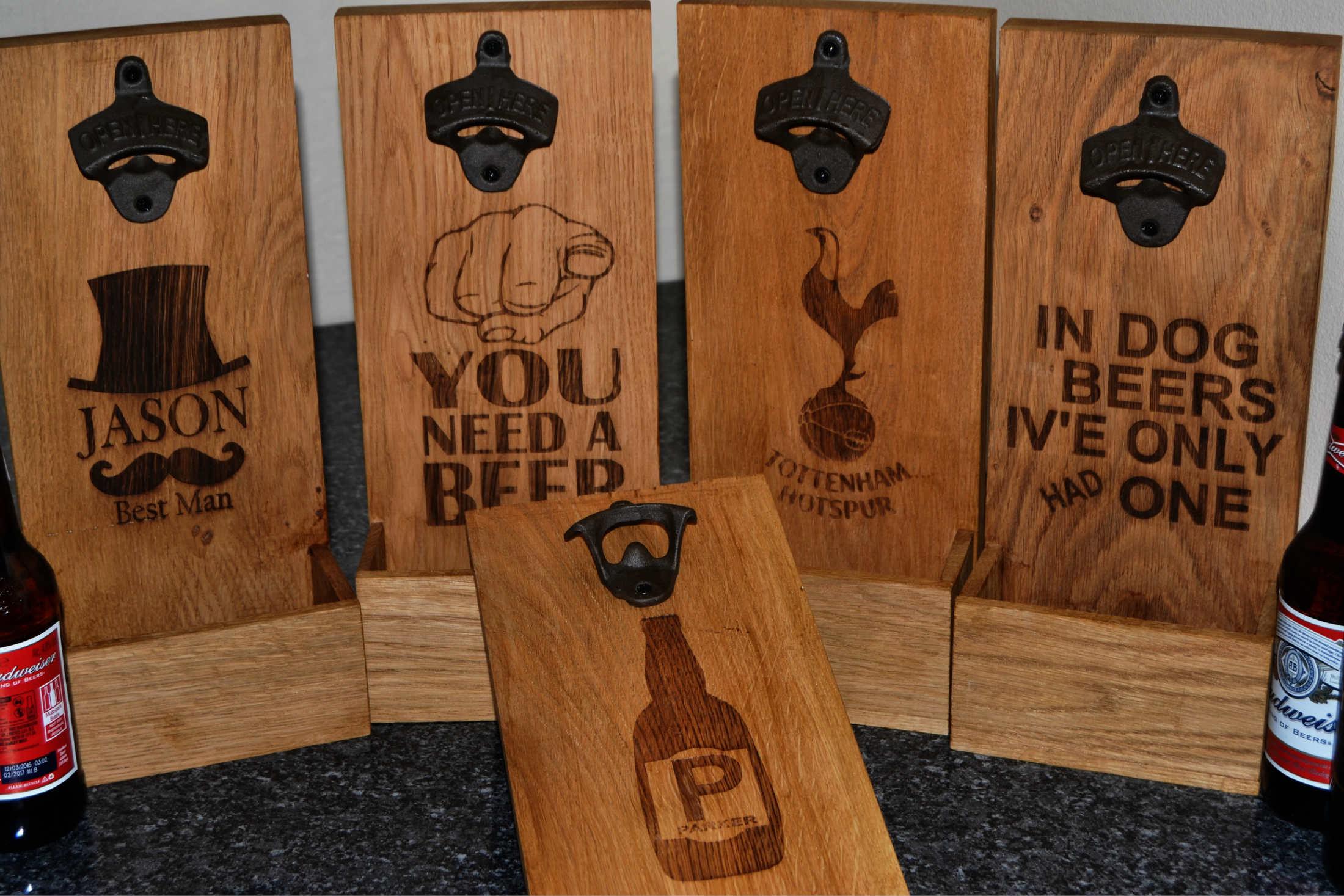 Personalised Gifts Oak Chopping Boards Oak Bloke