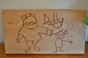 Daddy Drawing